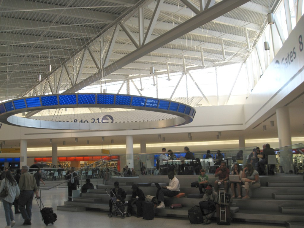 Inside JFK airport's new JetBlue terminal