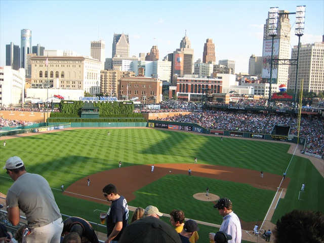 Comerica Park.  A thing of beauty.