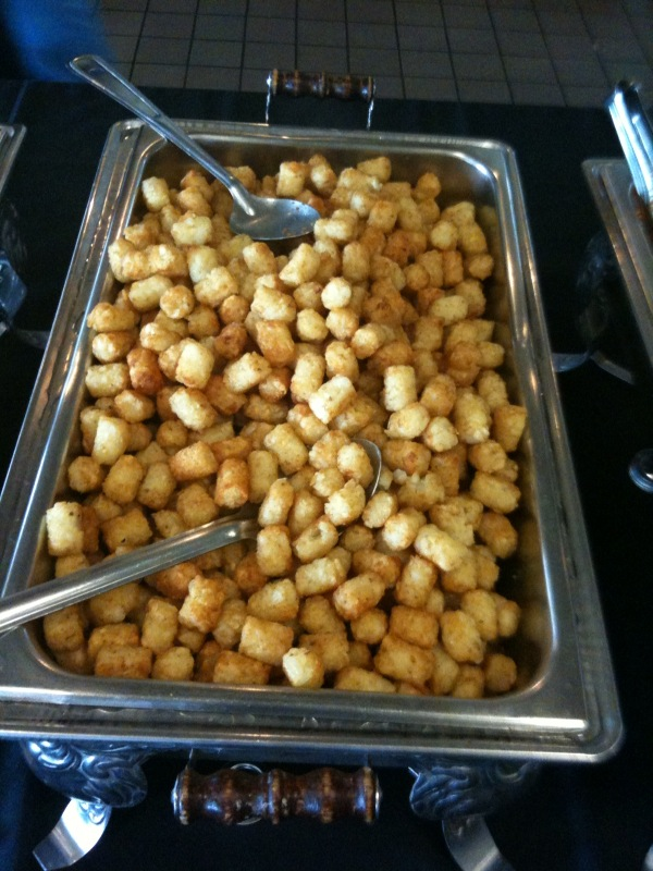 Tator tots for lunch