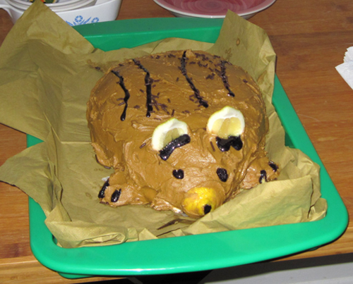 Gerbil cake!