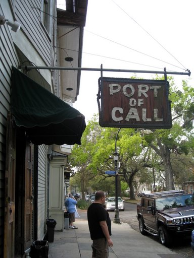 Port of Call (Love the cook in the background smoking...)